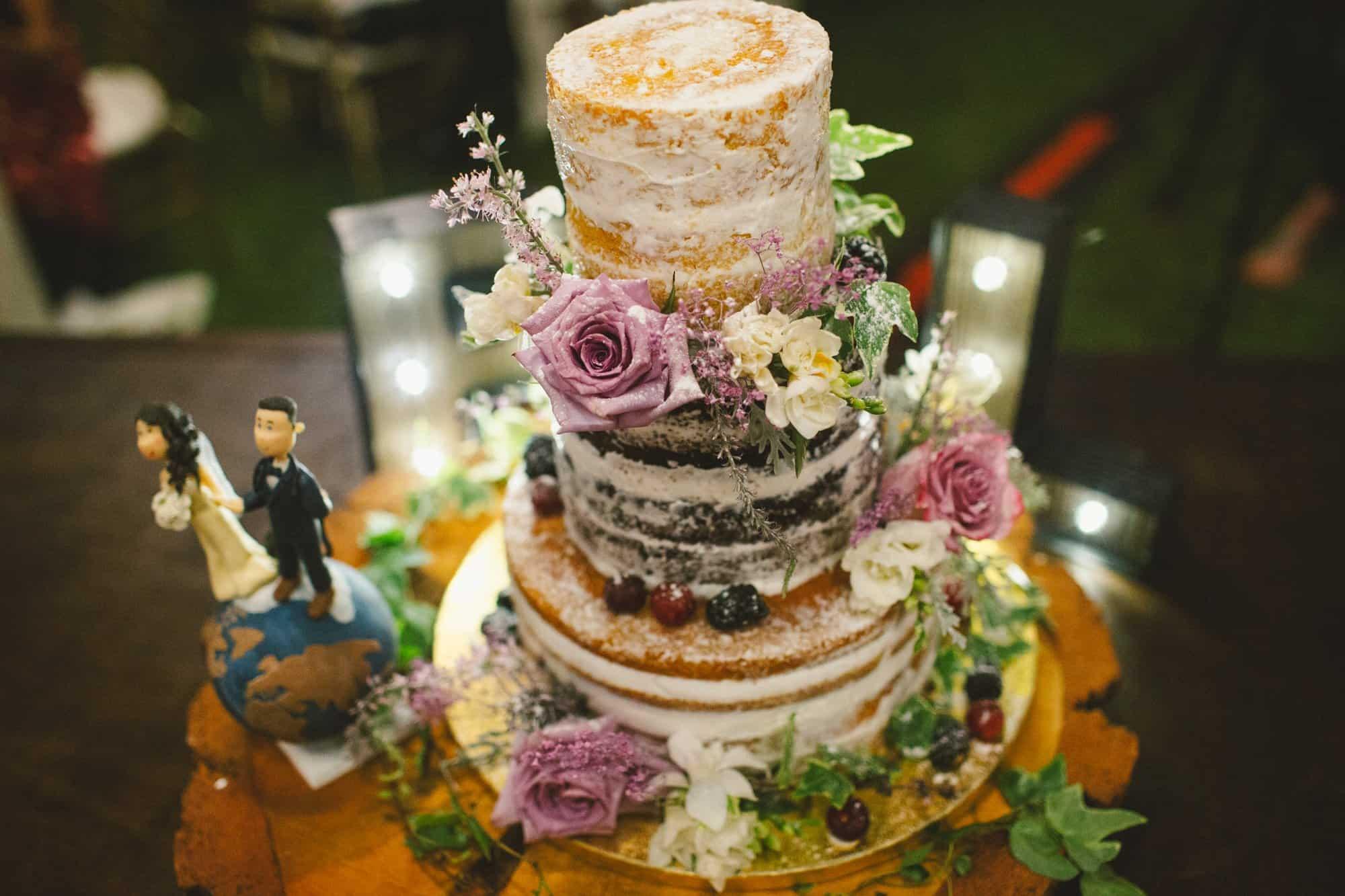 maui wedding cake