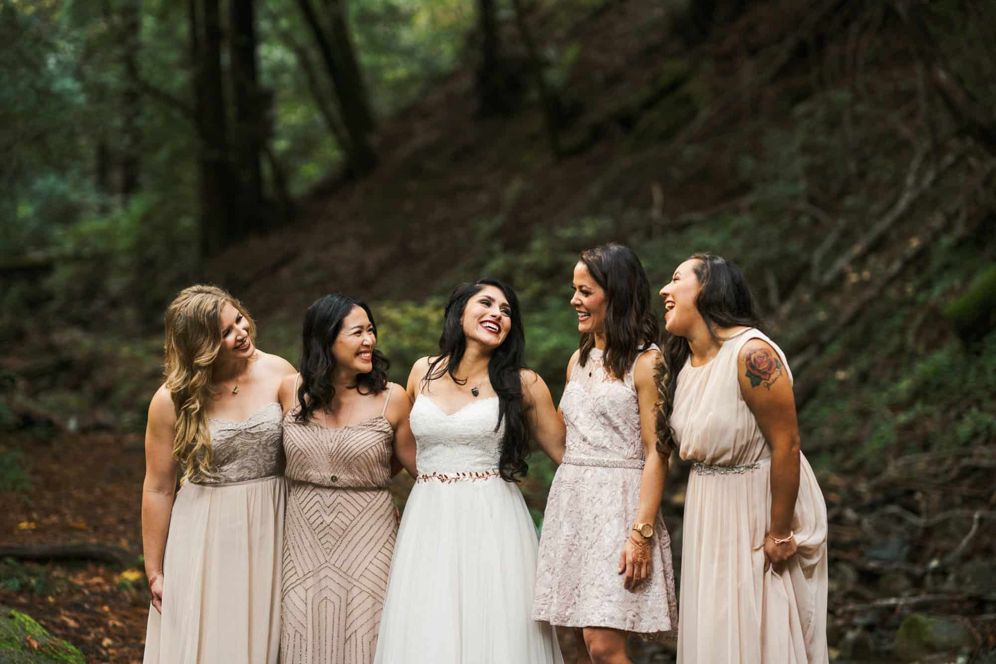 saratoga springs wedding bridesmaids