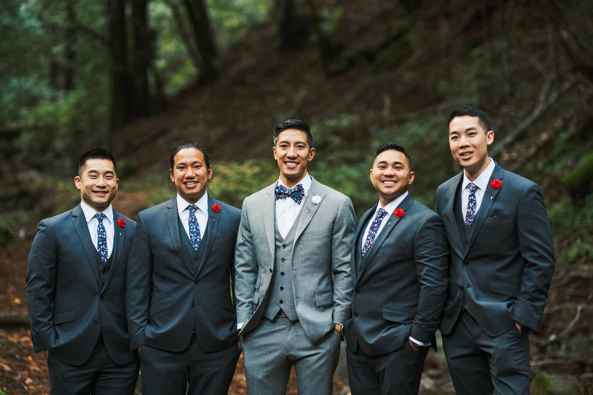 saratoga springs wedding groomsmen