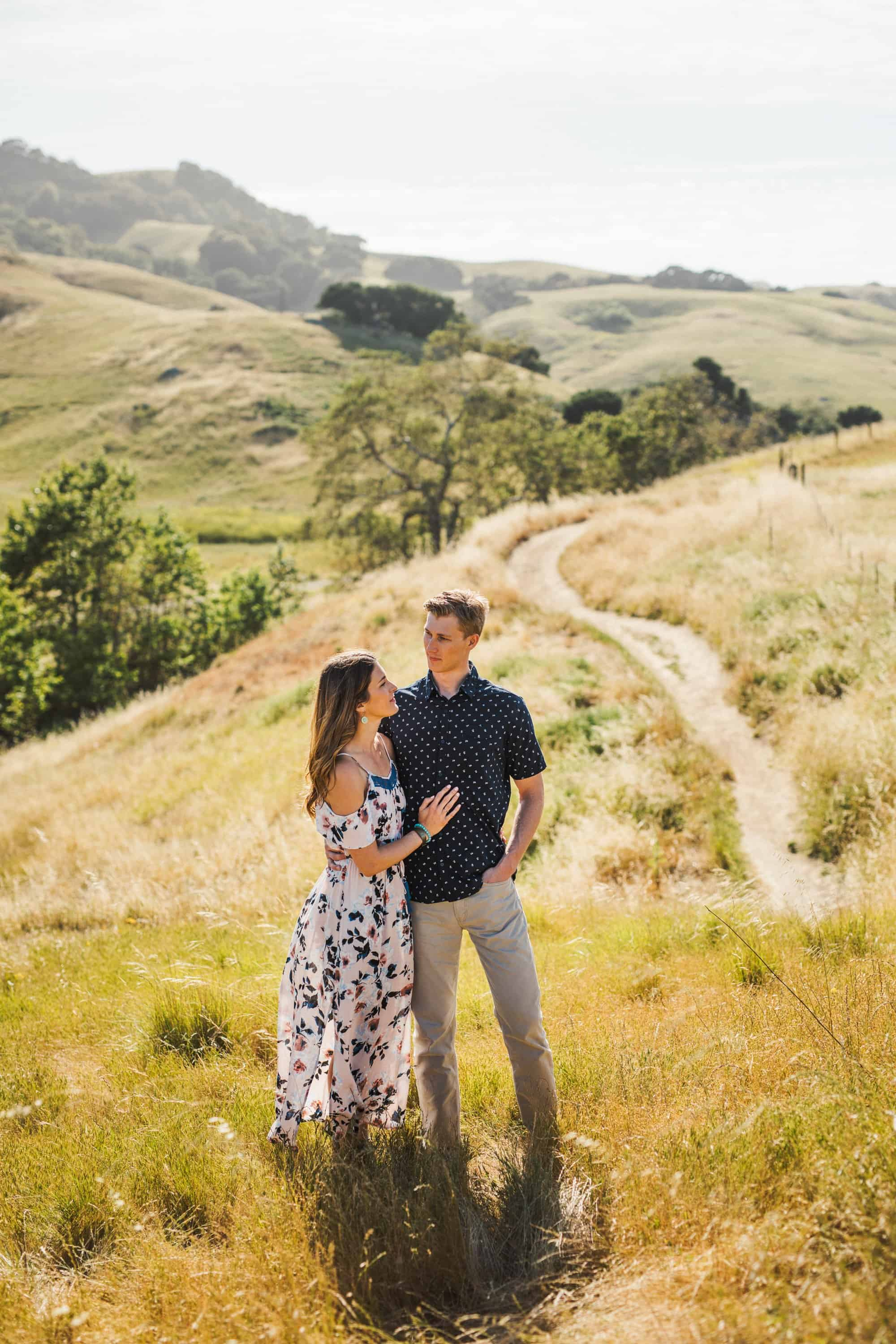 ranch engagement session