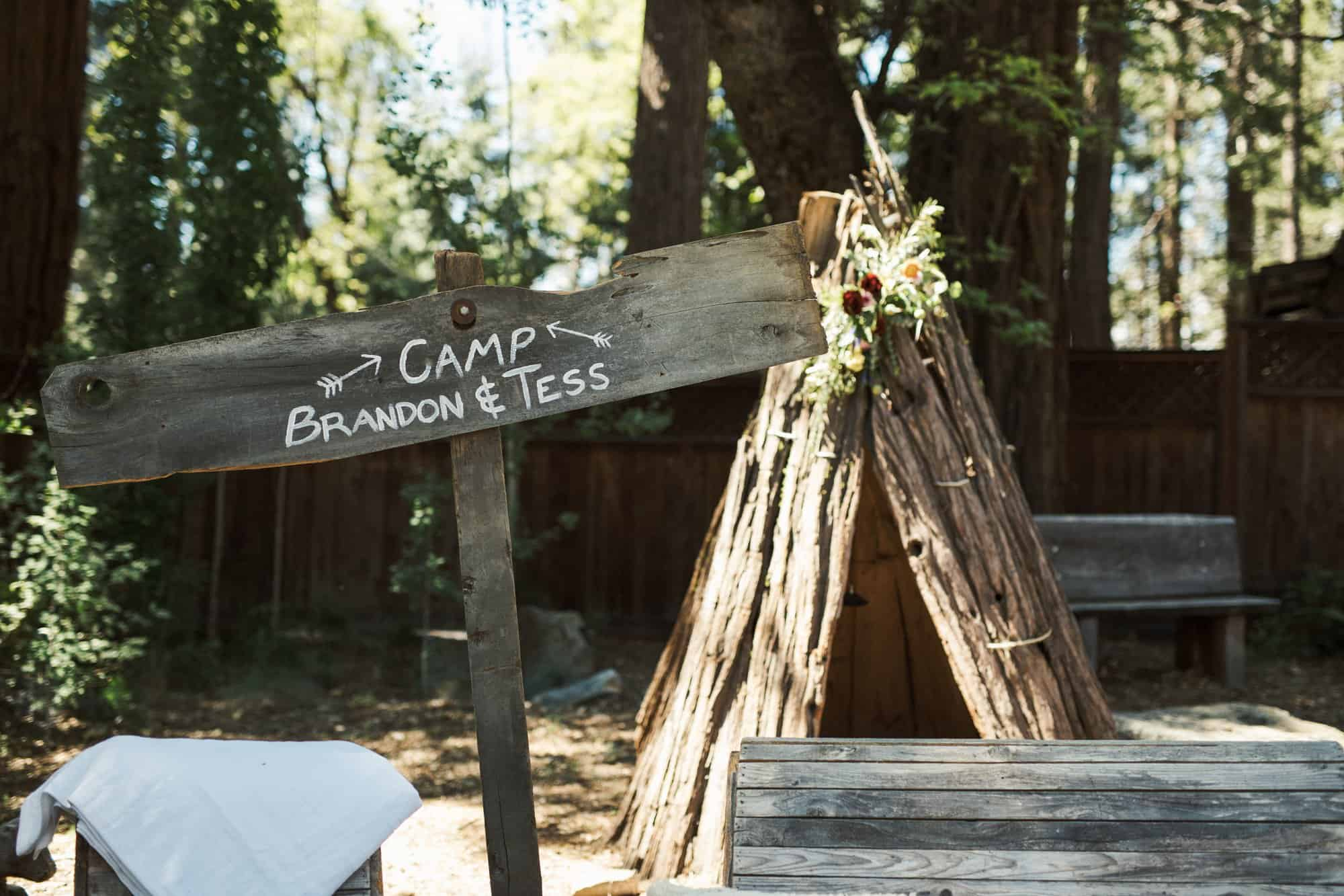 yosemite evergreen lodge wedding
