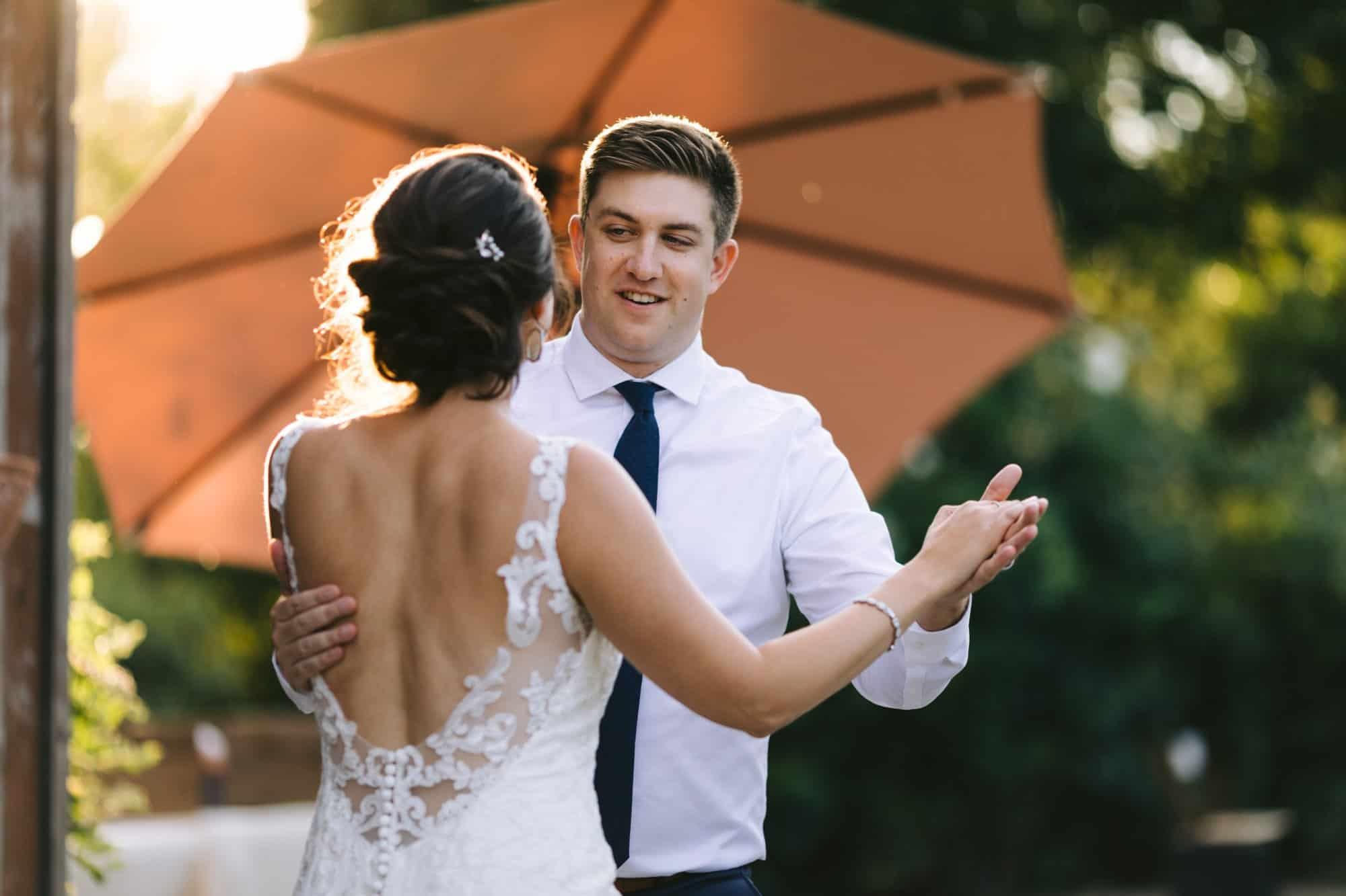 wedding first dance san luis obispo