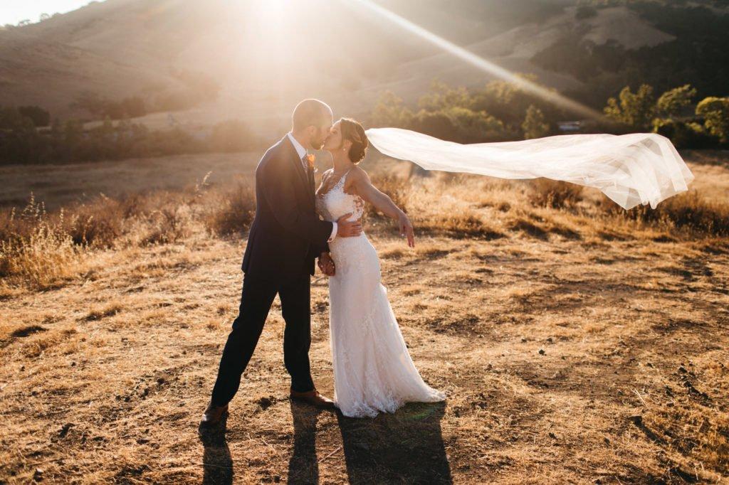 wedding portraits at higuera ranch