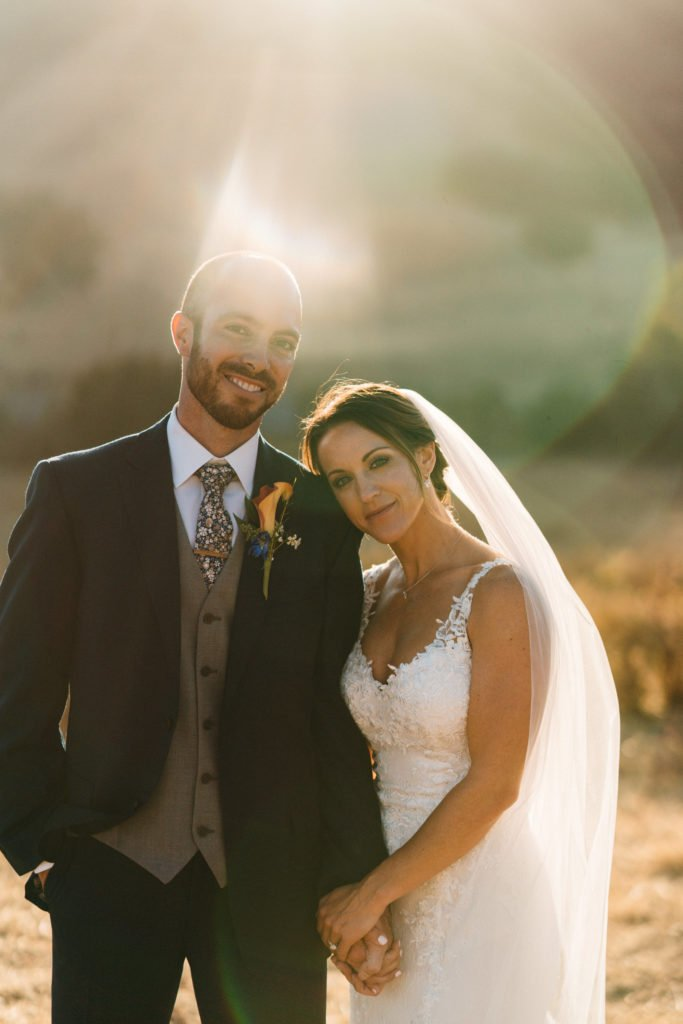 sunset higuera ranch wedding