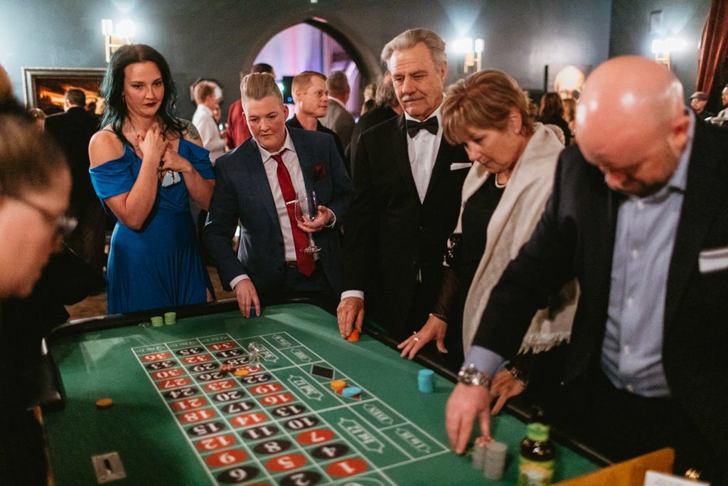 casino at wedding