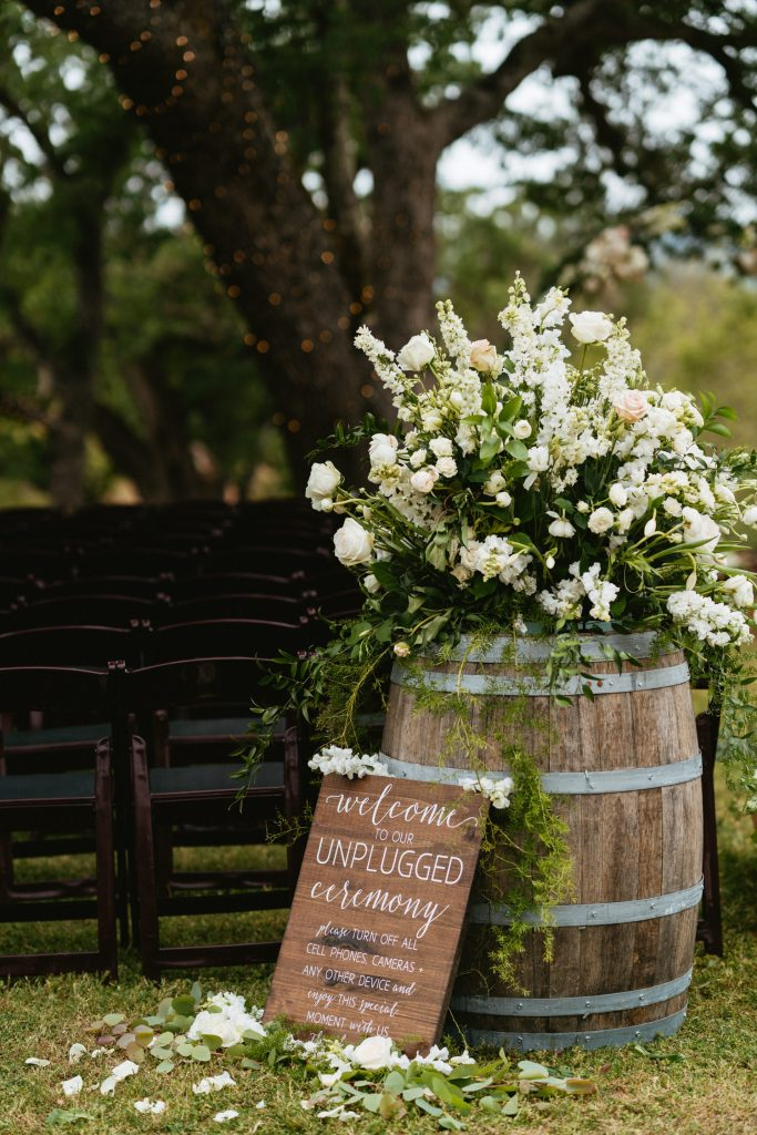 Wedding Signage Ranch