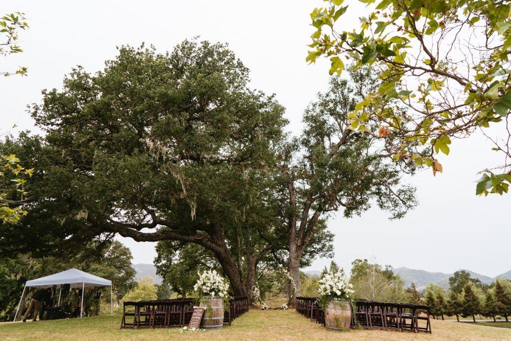 Ceremony at Spanish Oaks Ranch