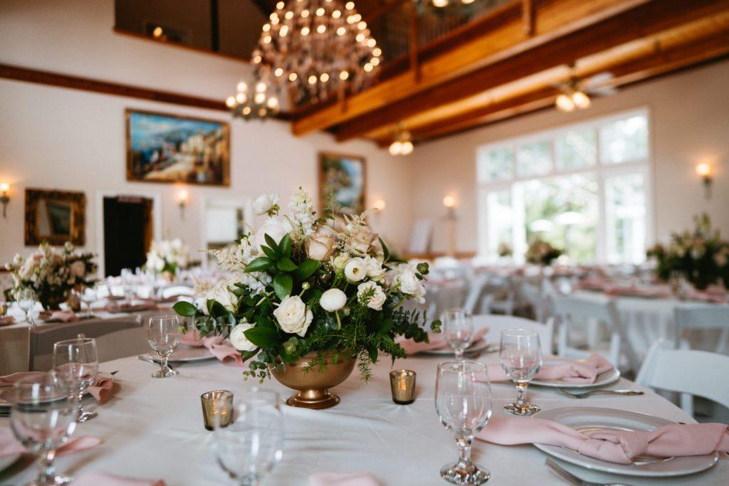 Spanish Oaks barn reception