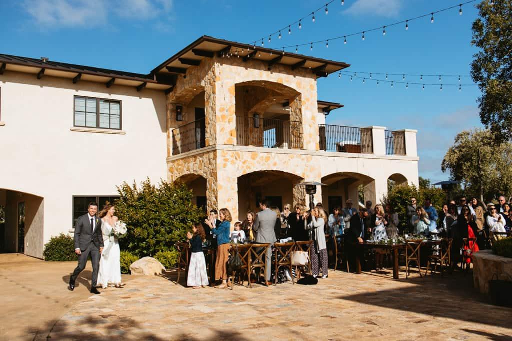 rava wines wedding reception