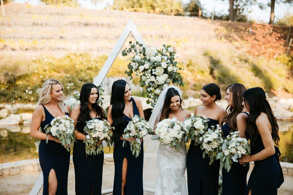 bridal party paso robles