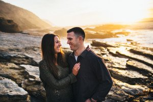 montana de oro engagement photography