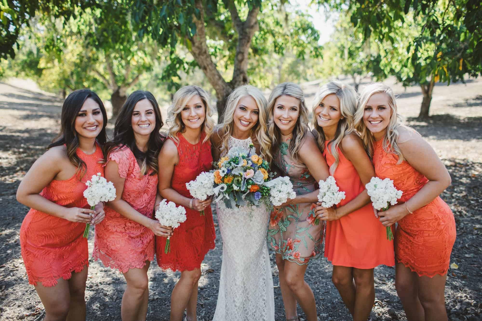 bridal party photos opolo vineyards