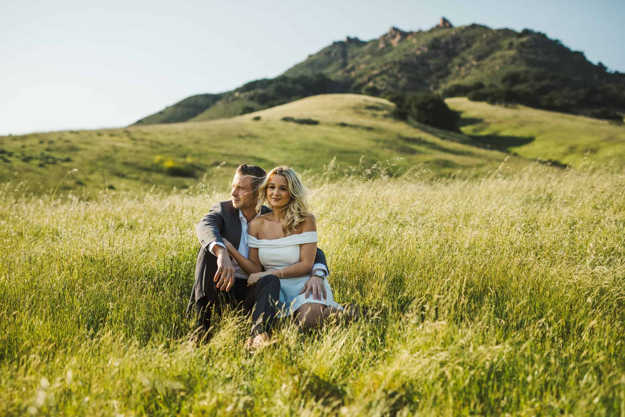 bishops peak engagement photos