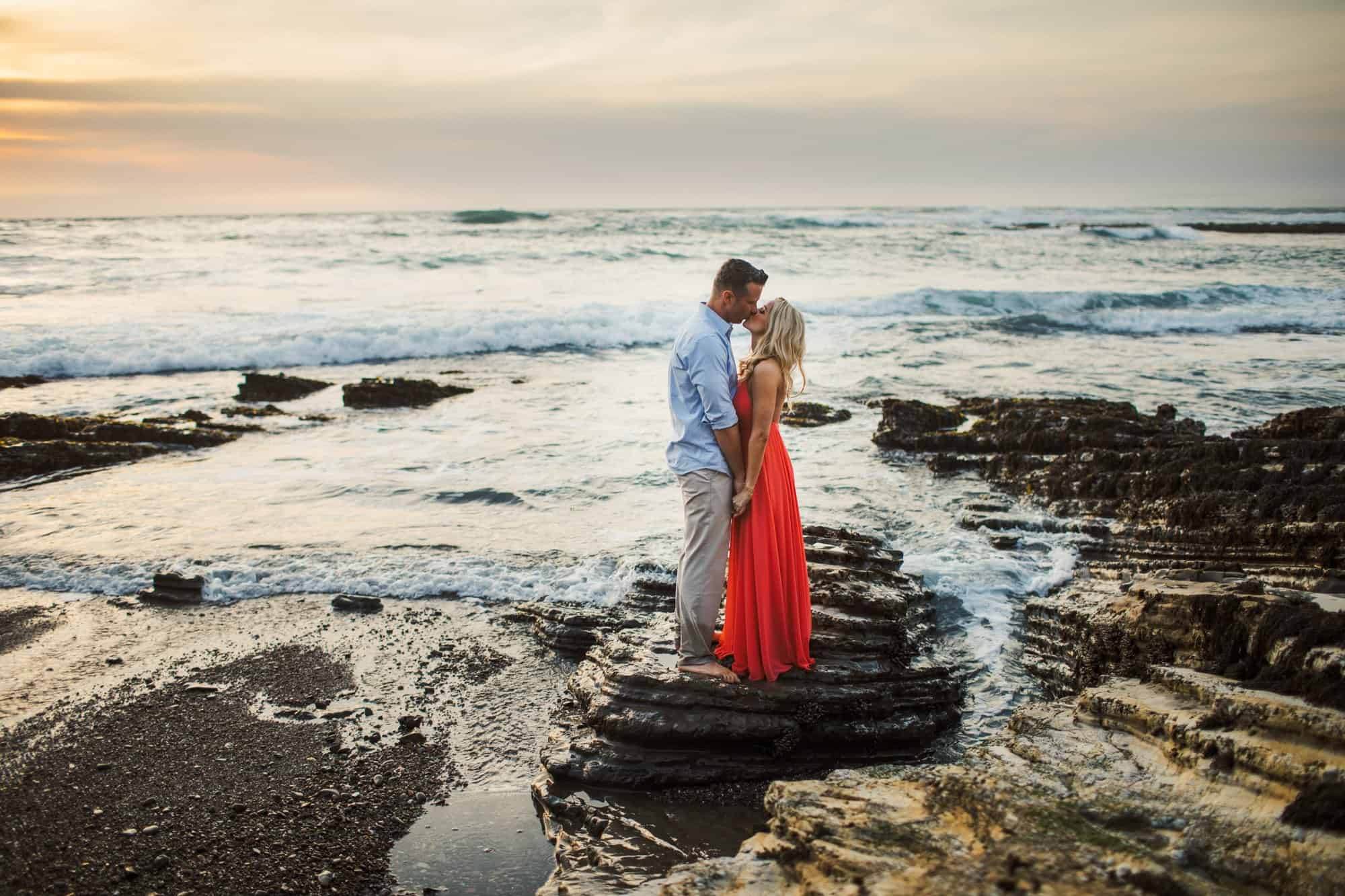 montana de oro engagement photos