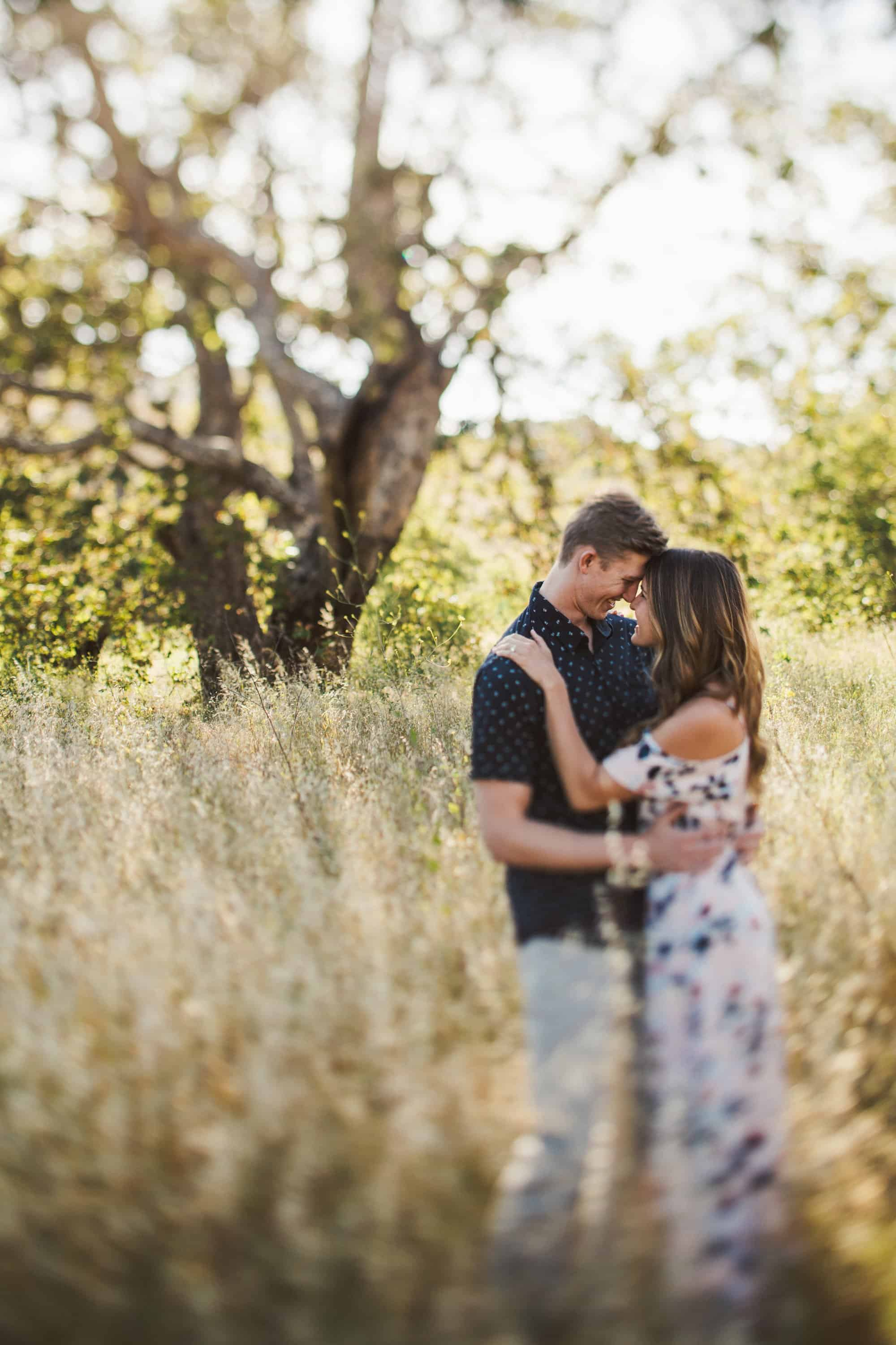 oak tree engagement