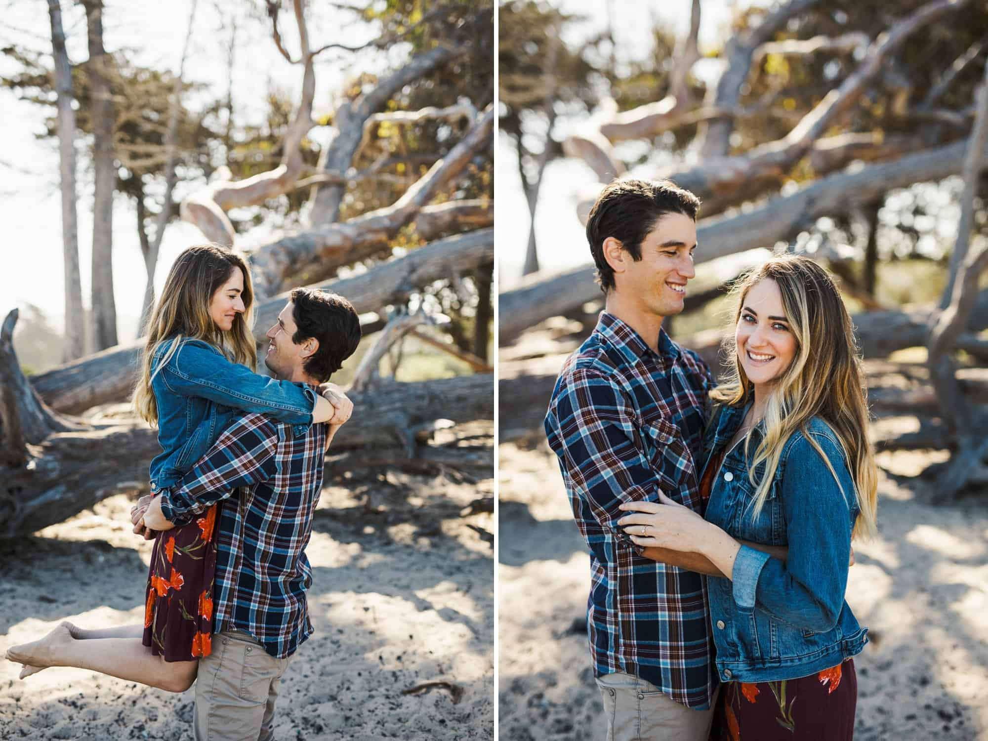 pismo beach engagement photos