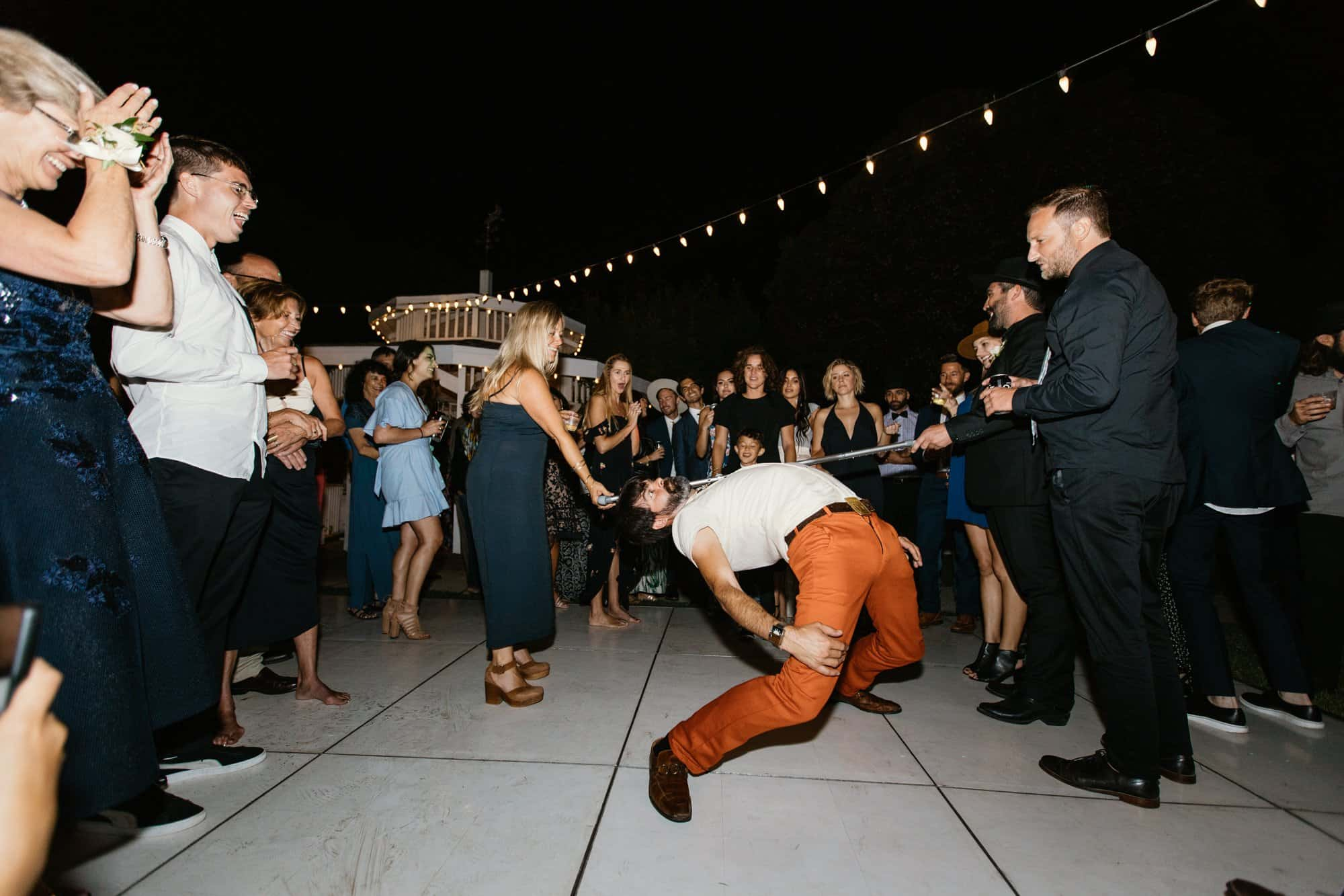 wedding fun limbo