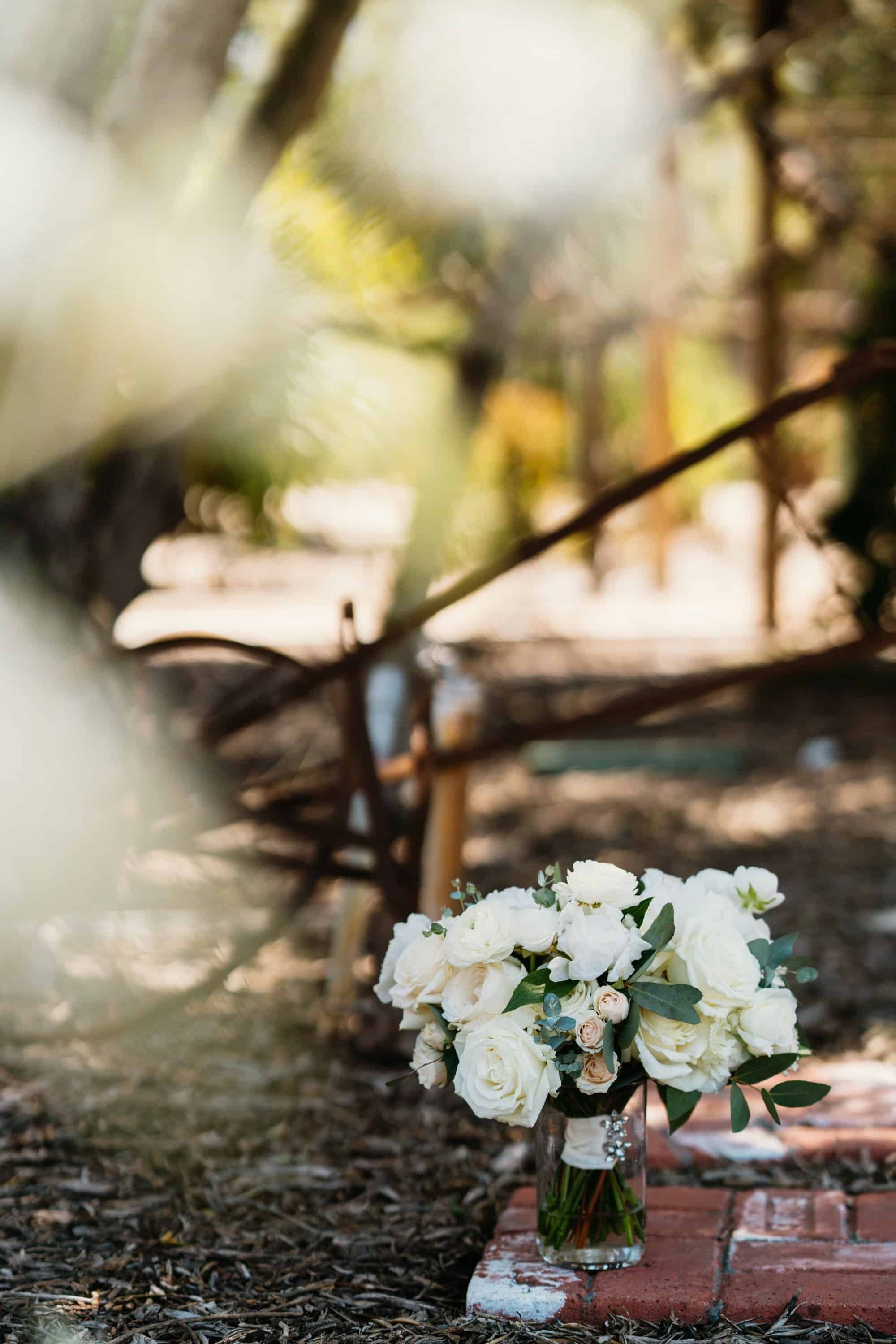 rustic wedding florist