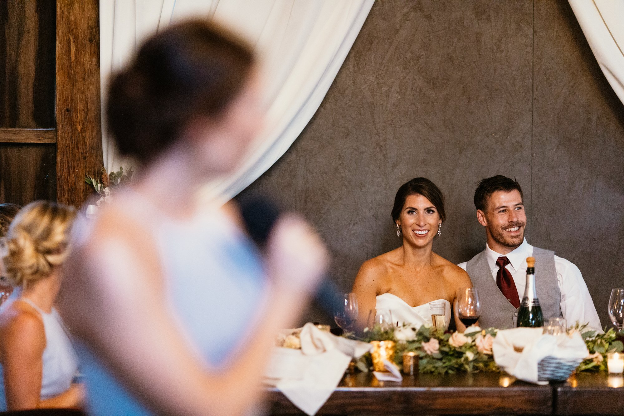 san luis obispo barn wedding reception