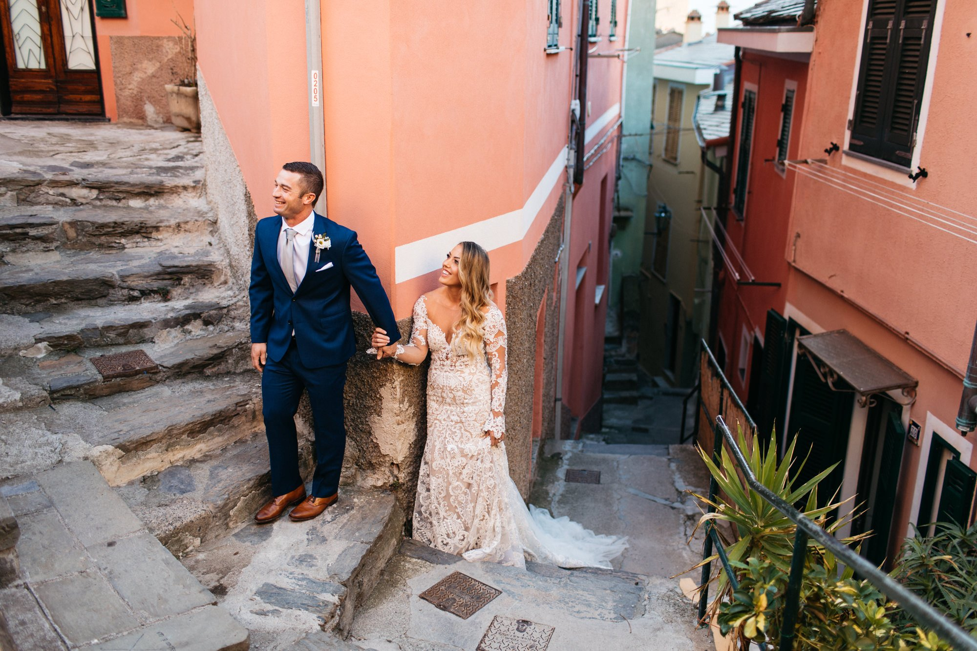 first look in vernazza