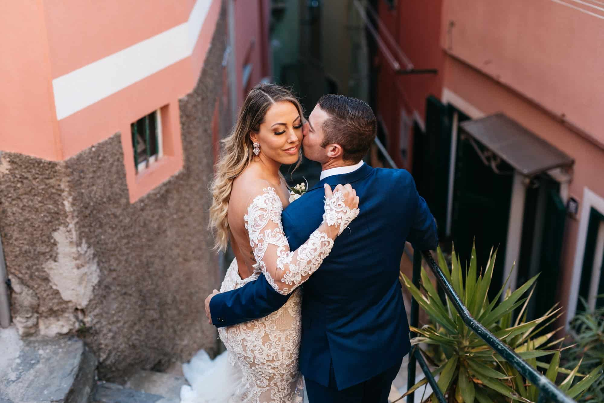 wedding in vernazza italy