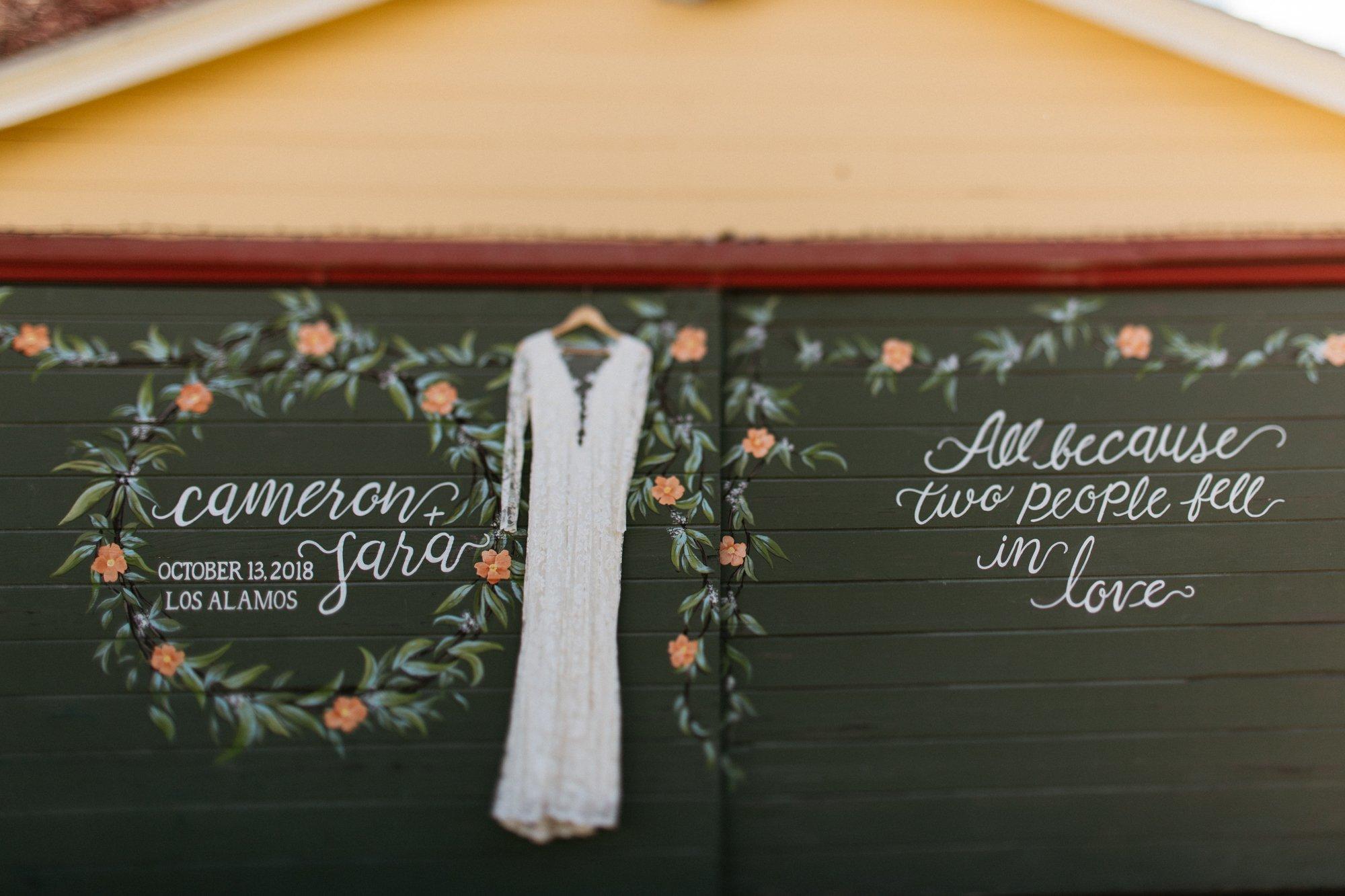 los alamos bride wedding dress