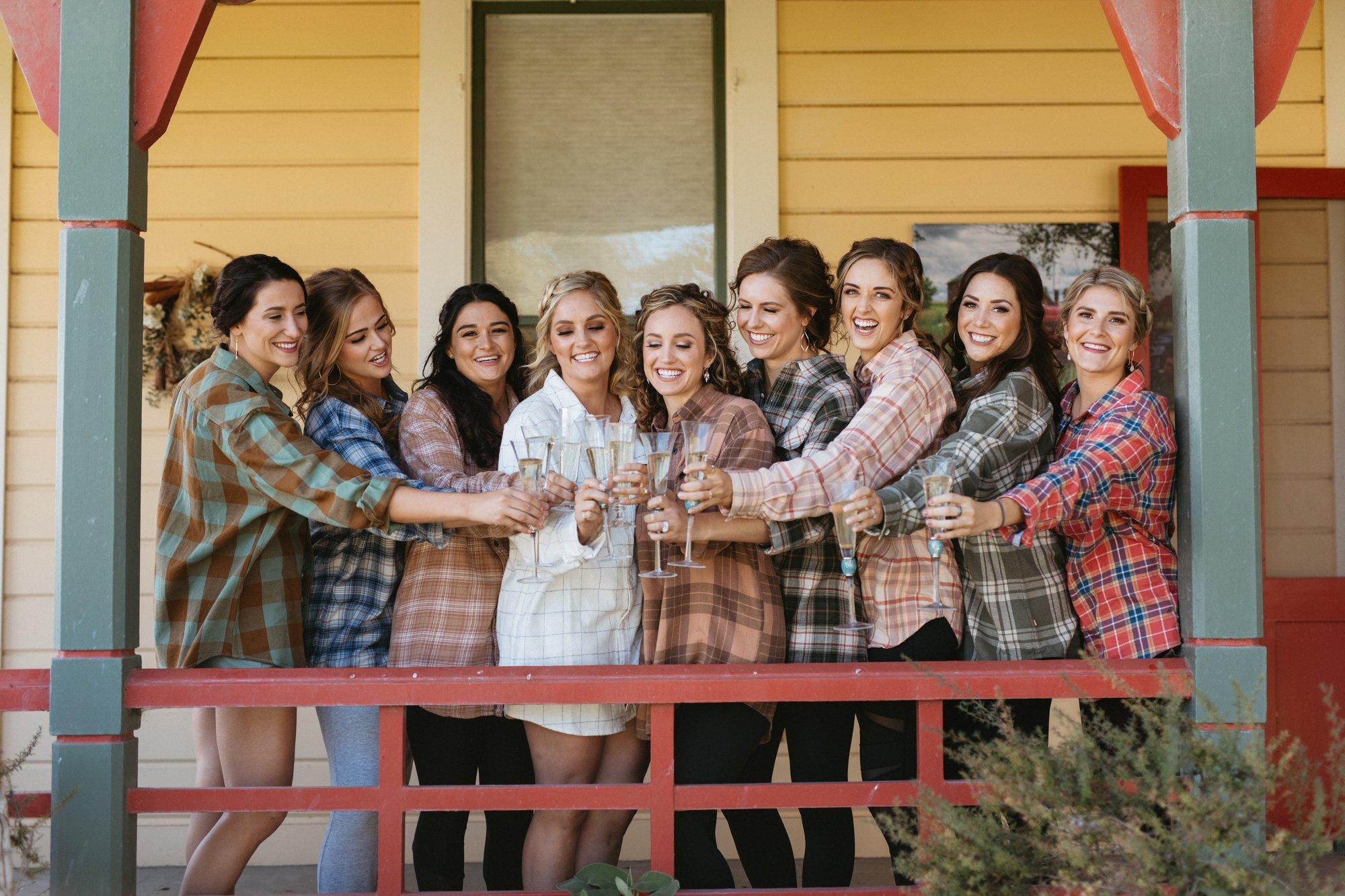 ranch wedding in los alamos