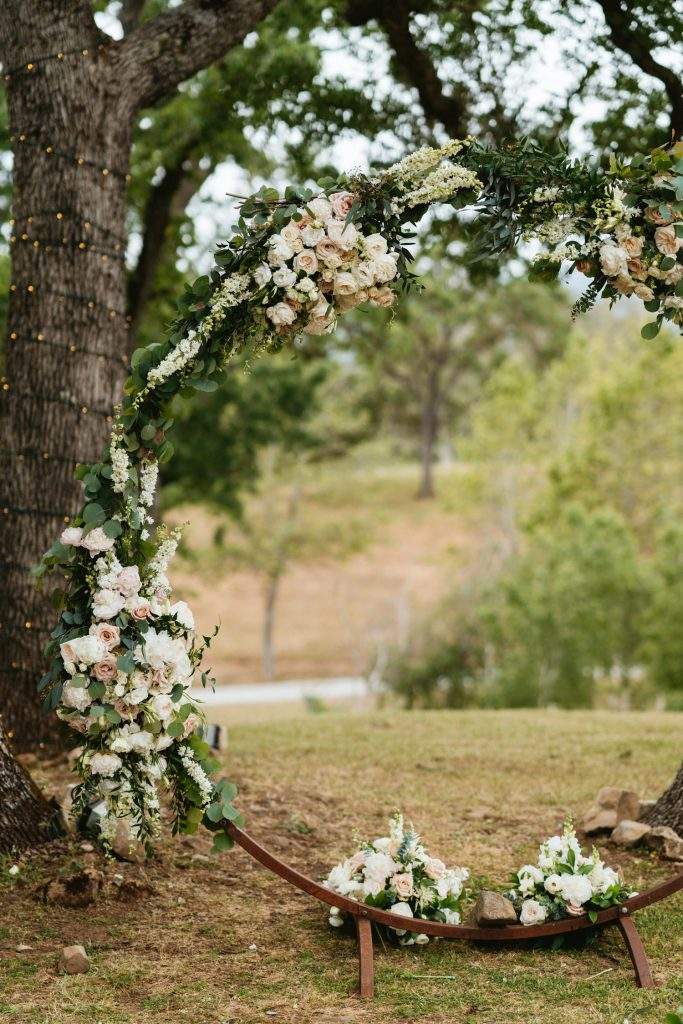 Boho Ranch Wedding Arbor