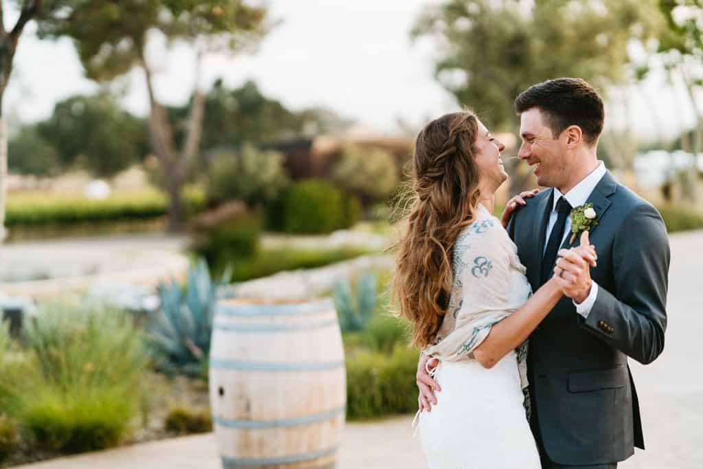 rava wines wedding first dance
