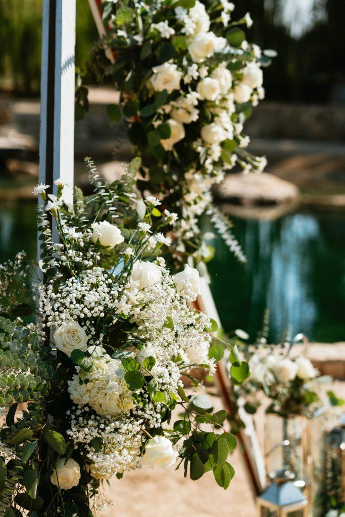 wedding florals paso robles venue