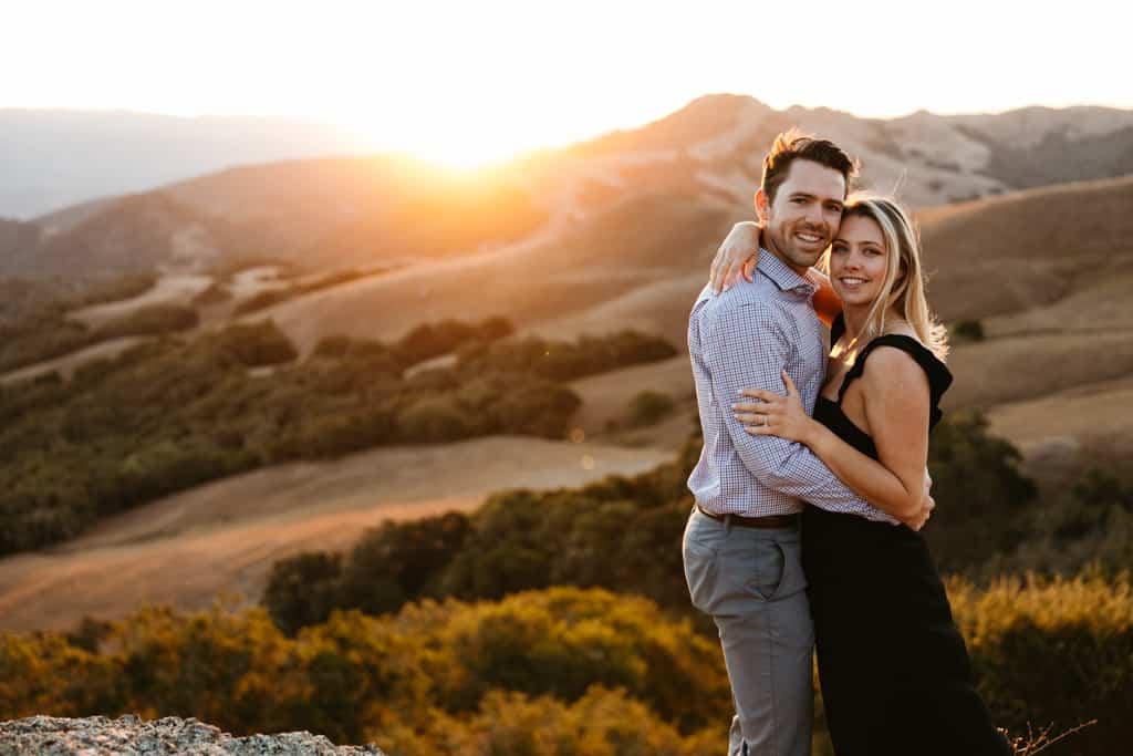 Prefumo Canyon Sunrise Engagement